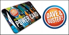 $50 Dave & Buster's PowerCard for ONLY $25